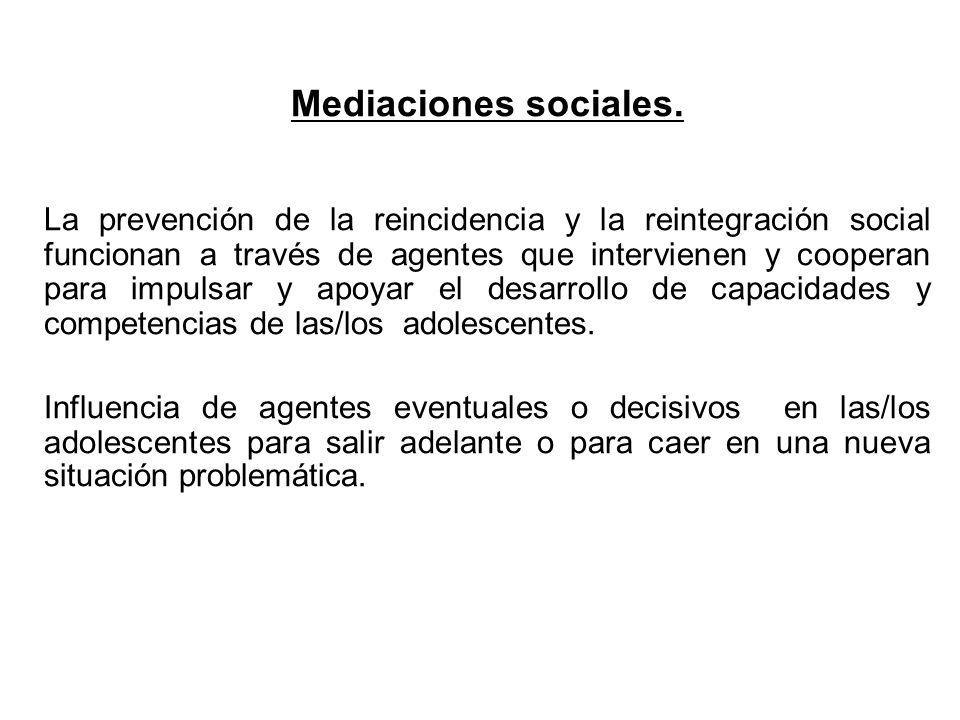 Mediaciones sociales.