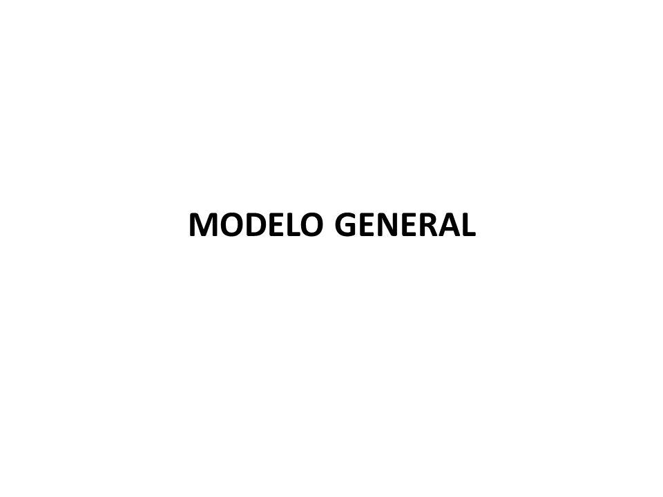MODELO GENERAL