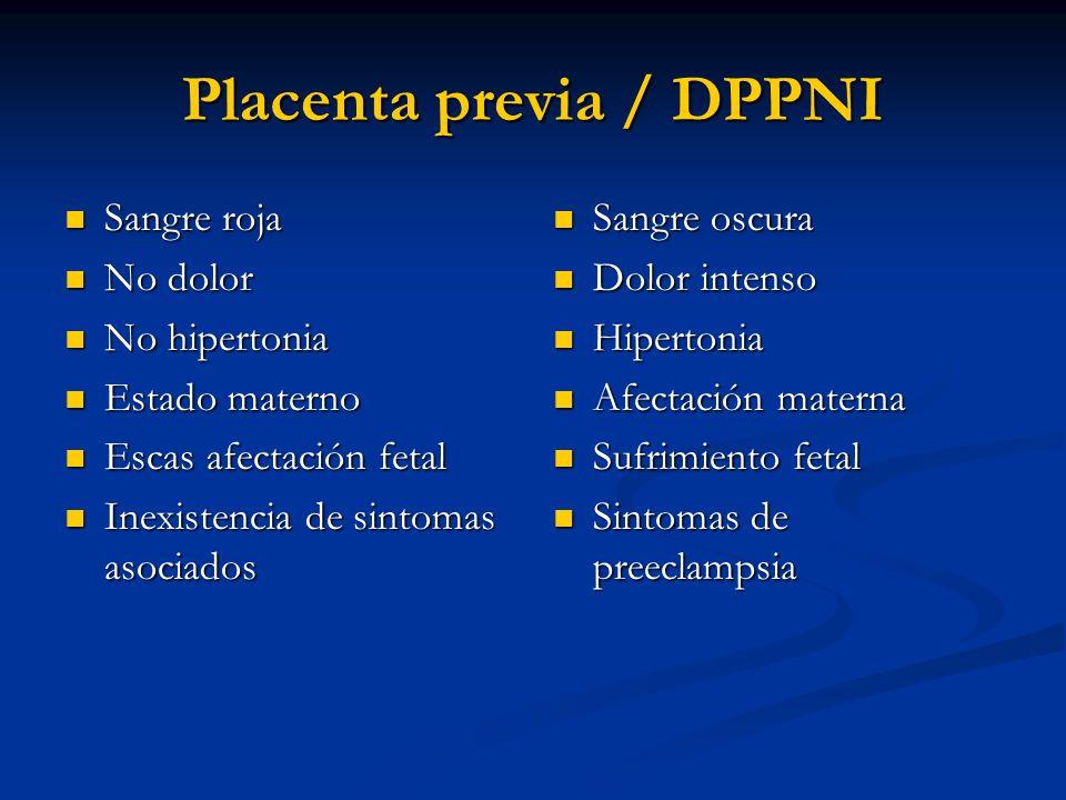 Placenta previa / DPPNI