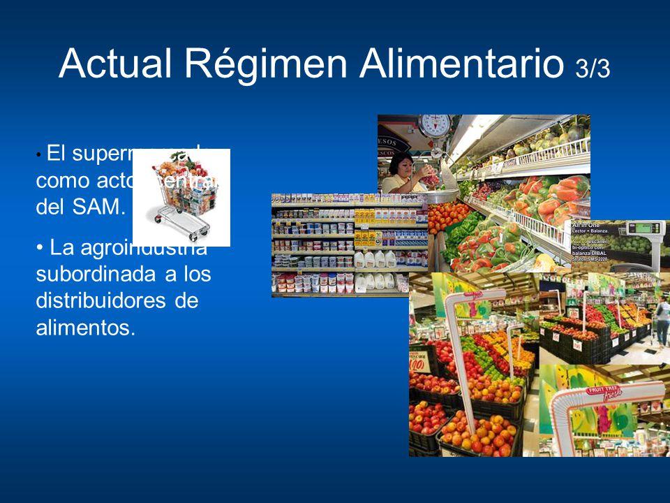 Actual Régimen Alimentario 3/3