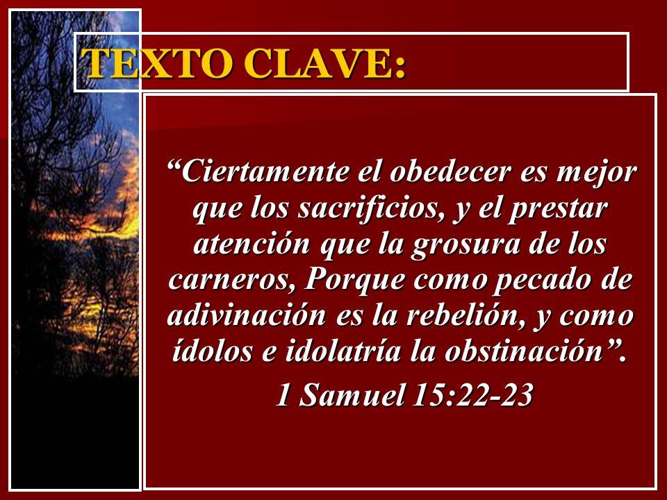 TEXTO CLAVE: