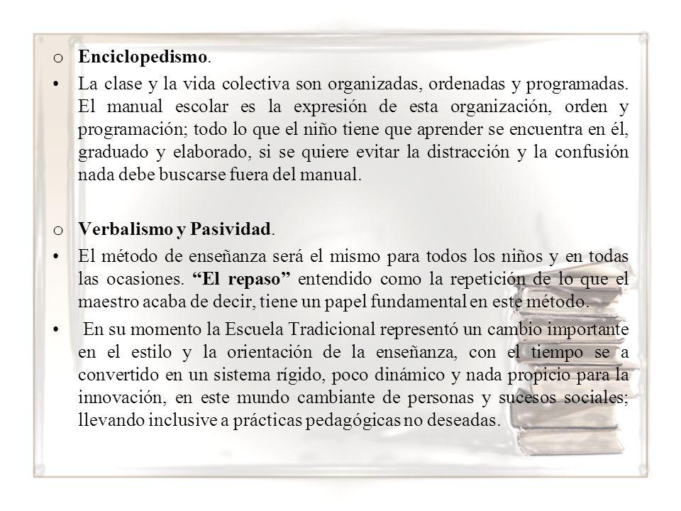 Enciclopedismo.
