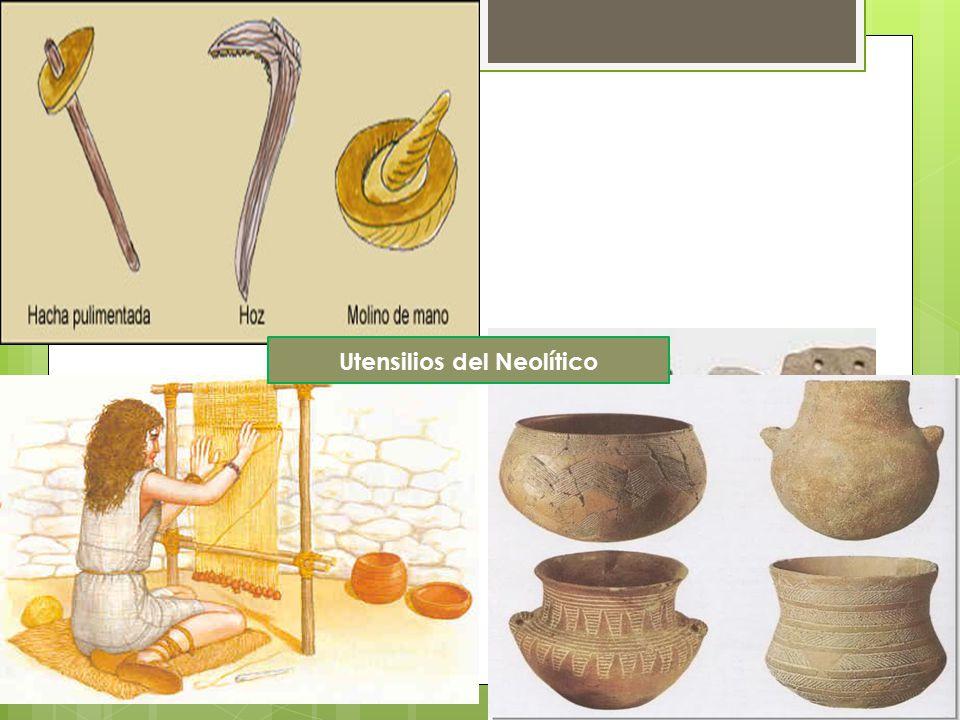 Utensilios del Neolítico