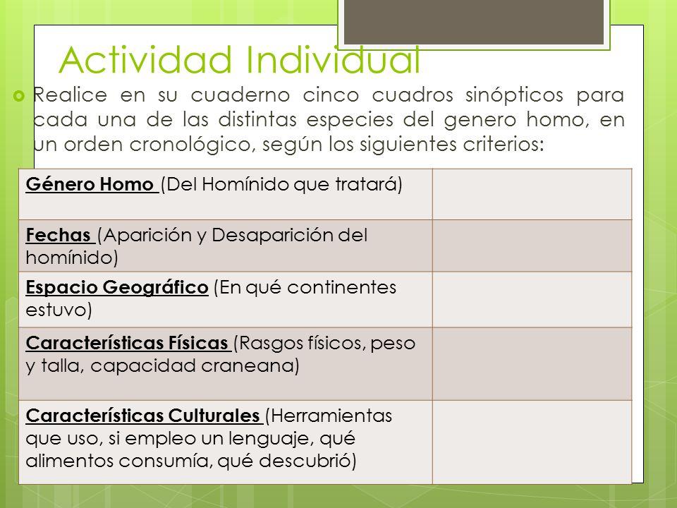 Actividad Individual
