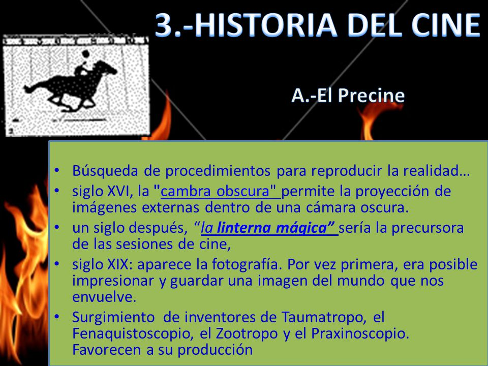 3.-HISTORIA DEL CINE A.-El Precine