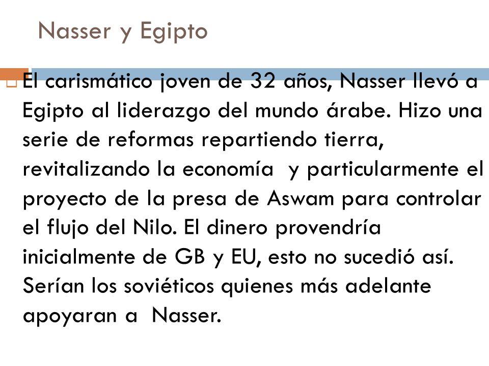 Nasser y Egipto