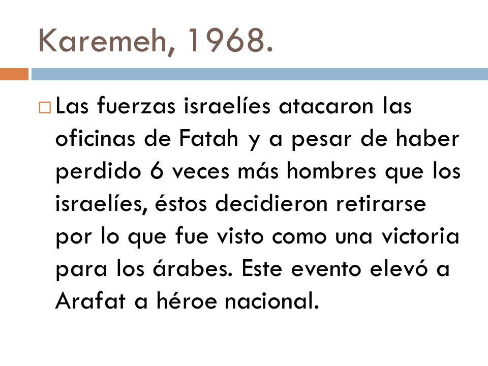 Karemeh, 1968.