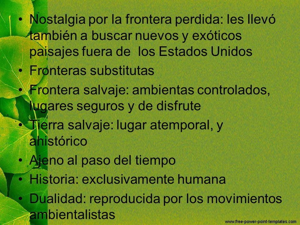 Fronteras substitutas
