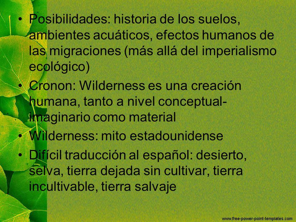 Wilderness: mito estadounidense