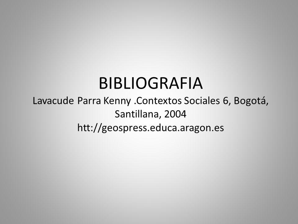 BIBLIOGRAFIA Lavacude Parra Kenny