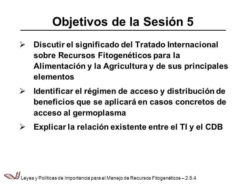 Objetivos de la Sesión 5