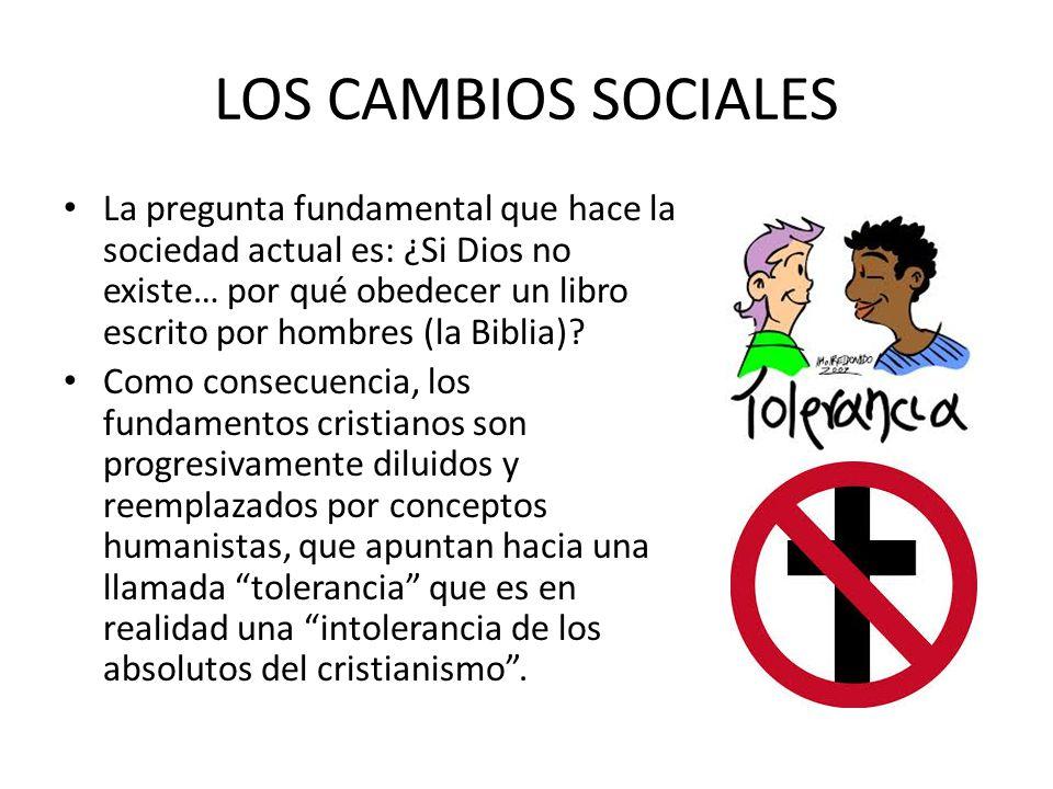 LOS CAMBIOS SOCIALES
