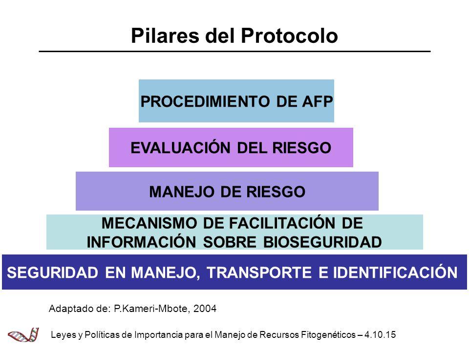 MECANISMO DE FACILITACIÓN DE INFORMACIÓN SOBRE BIOSEGURIDAD