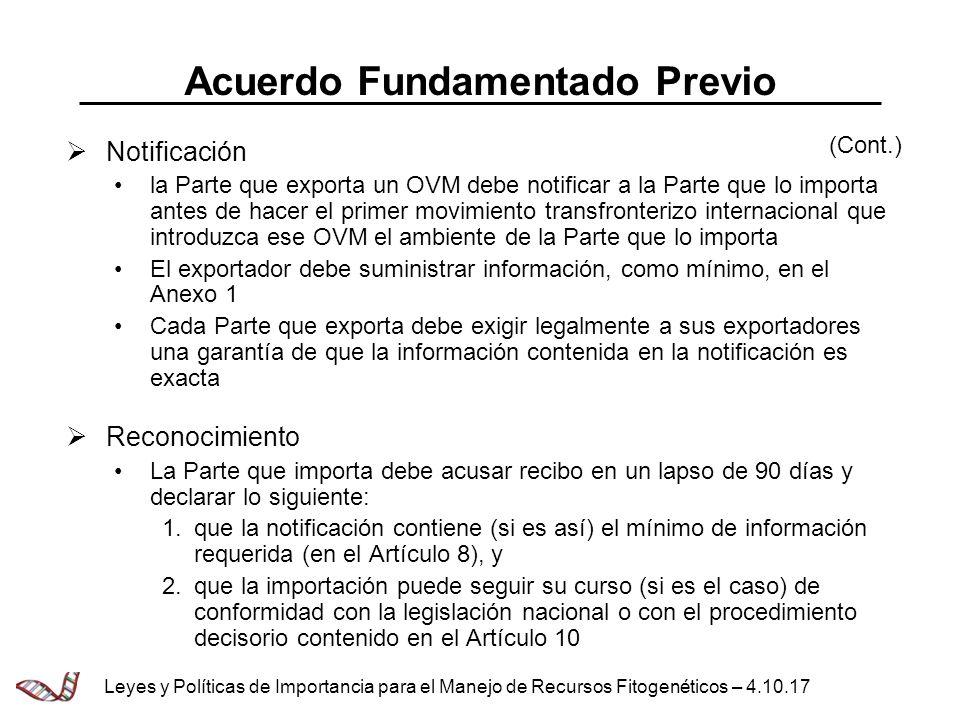 Acuerdo Fundamentado Previo