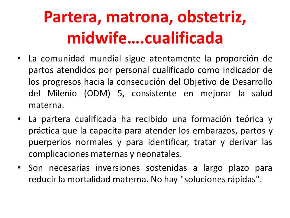 Partera, matrona, obstetriz, midwife….cualificada