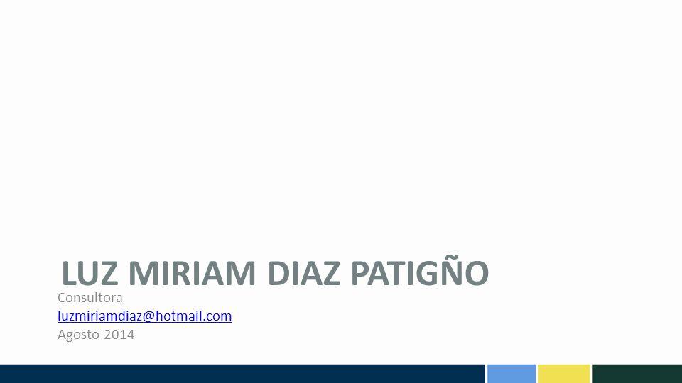 Luz Miriam diaz patigño