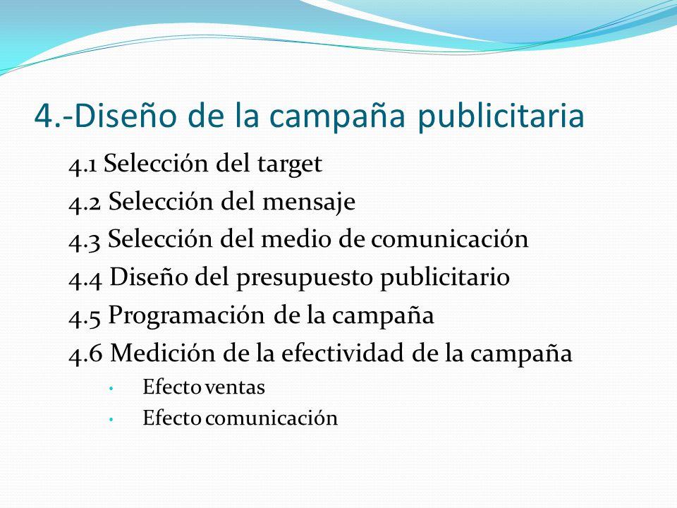 4.-Diseño de la campaña publicitaria