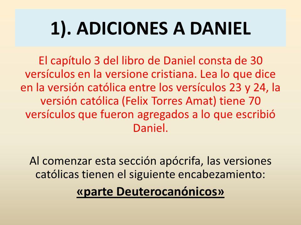 «parte Deuterocanónicos»