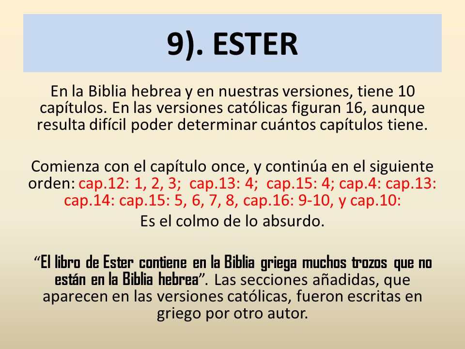 9). ESTER