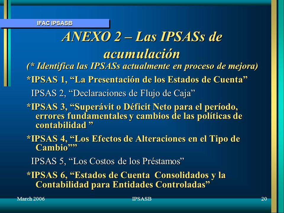 ANEXO 2 – Las IPSASs de acumulación