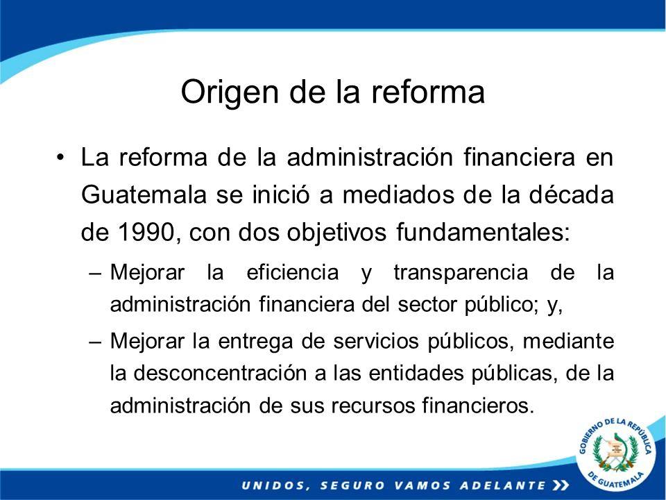 Origen de la reforma