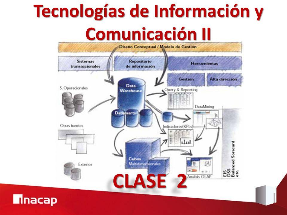 Tecnologías de Información y Comunicación II