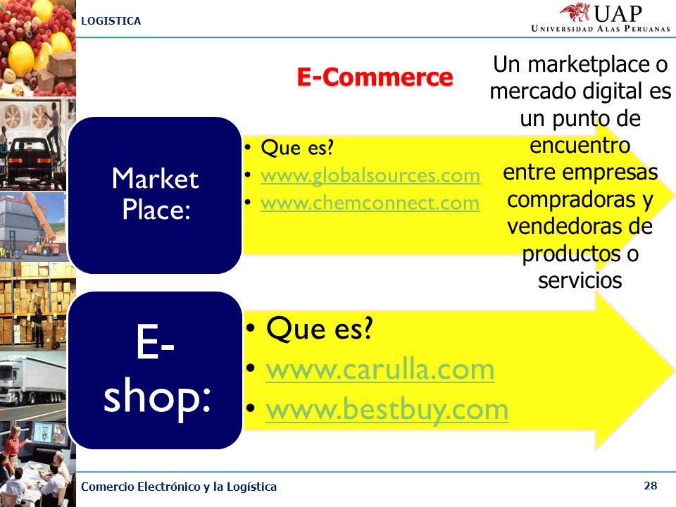 E-shop: Market Place: E-Commerce