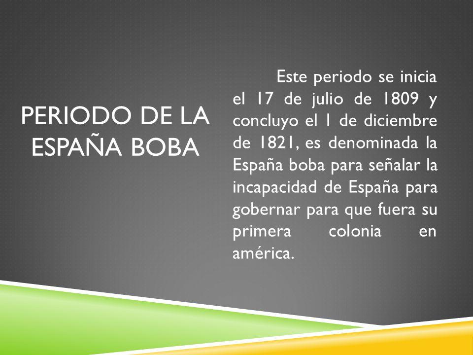 Periodo de la España Boba