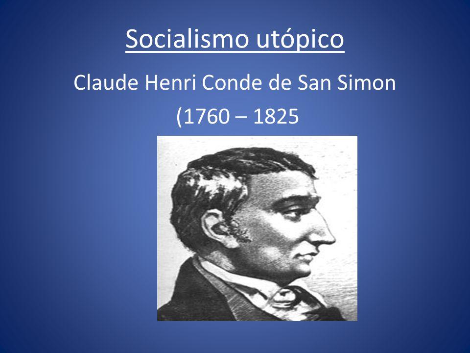 Claude Henri Conde de San Simon