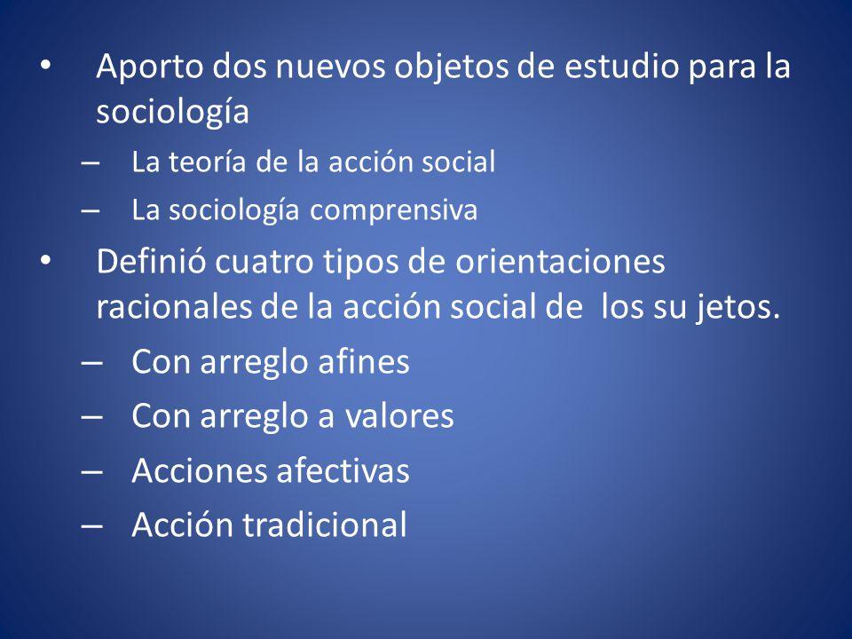 Aporto dos nuevos objetos de estudio para la sociología