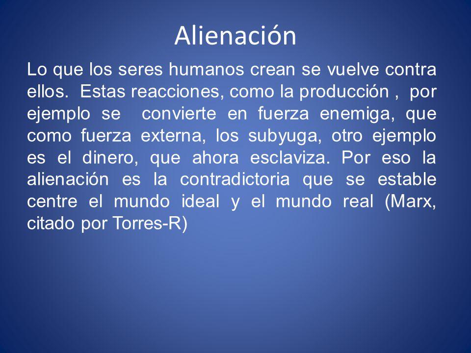 Alienación