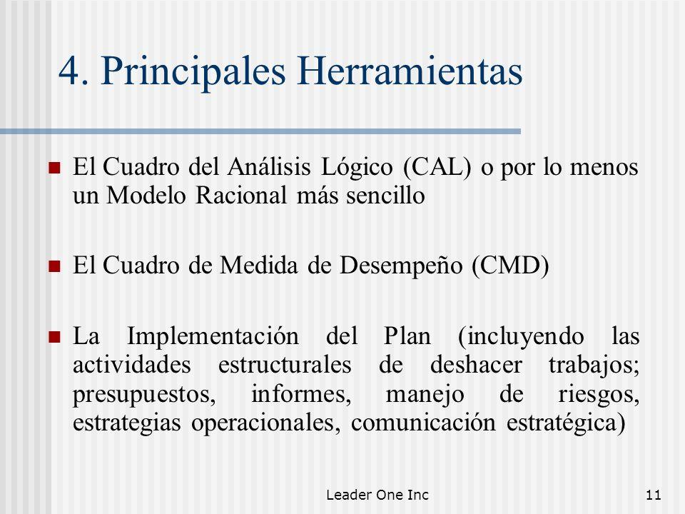 4. Principales Herramientas