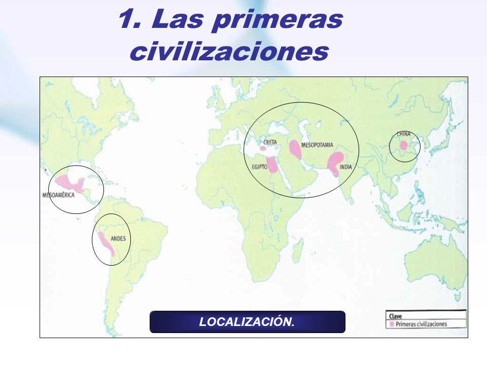 1. Las primeras civilizaciones