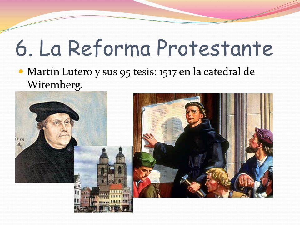 6. La Reforma Protestante