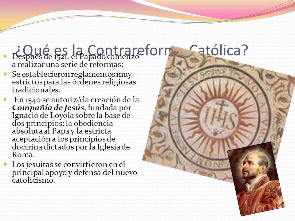 ¿Qué es la Contrareforma Católica