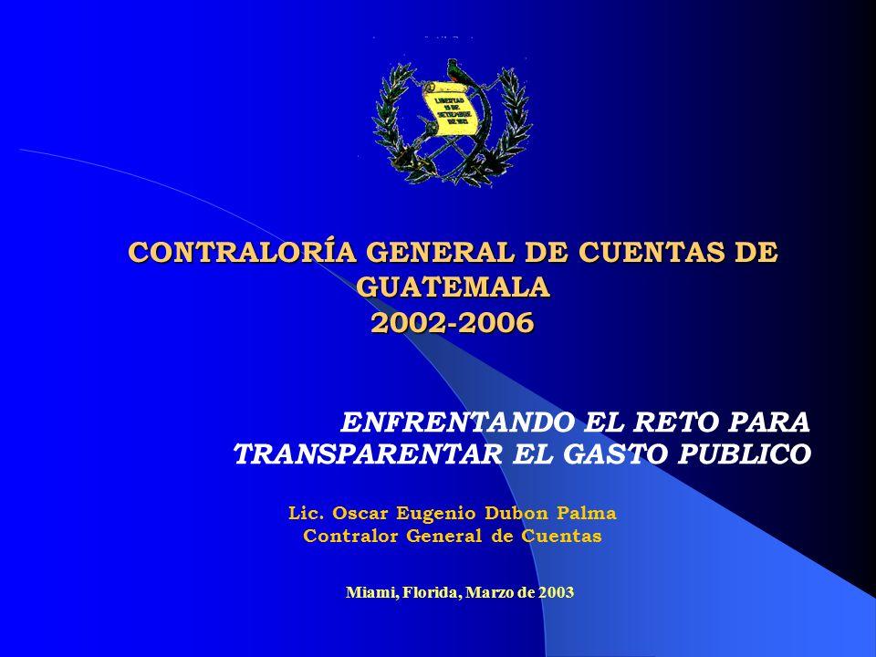 CONTRALORÍA GENERAL DE CUENTAS DE GUATEMALA 2002-2006