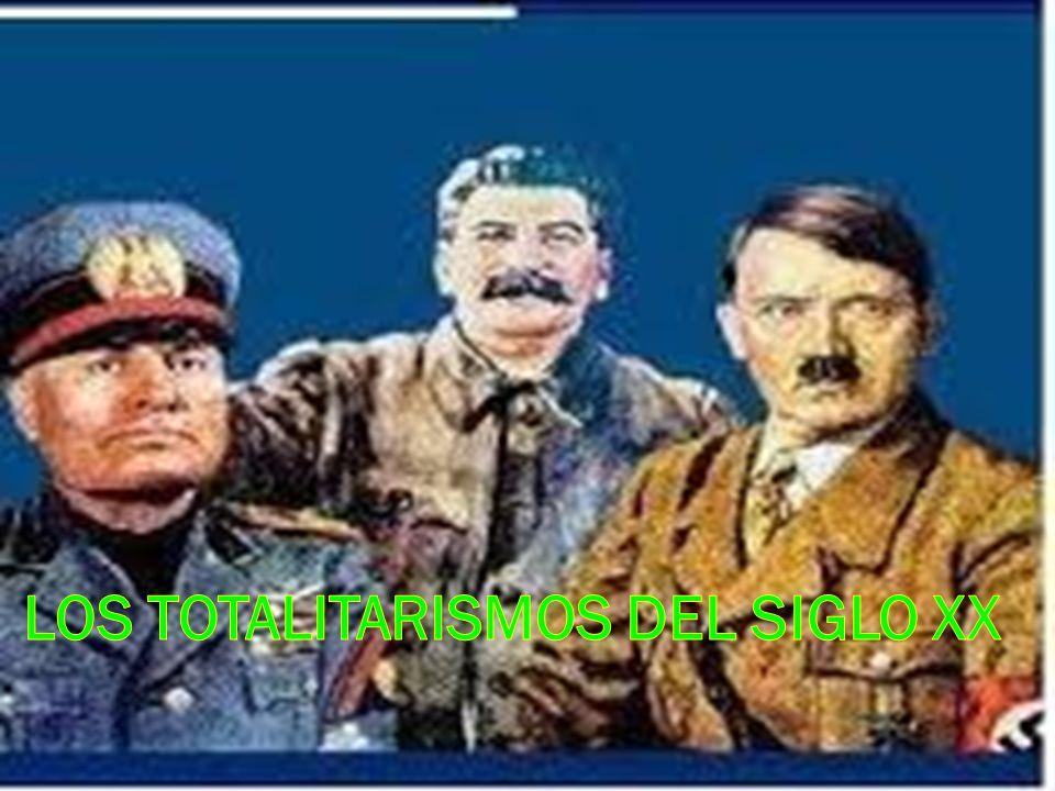 Los totalitarismos del Siglo XX