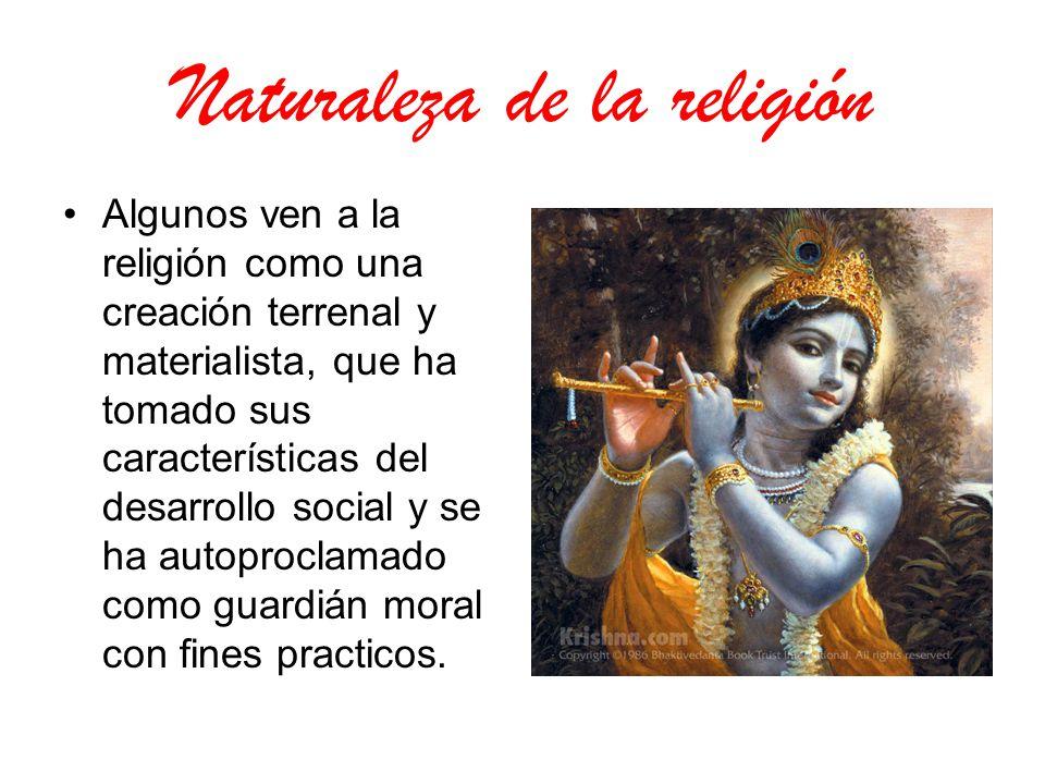 Naturaleza de la religión