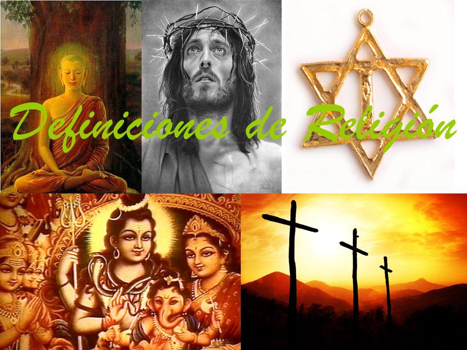 Definiciones de Religión