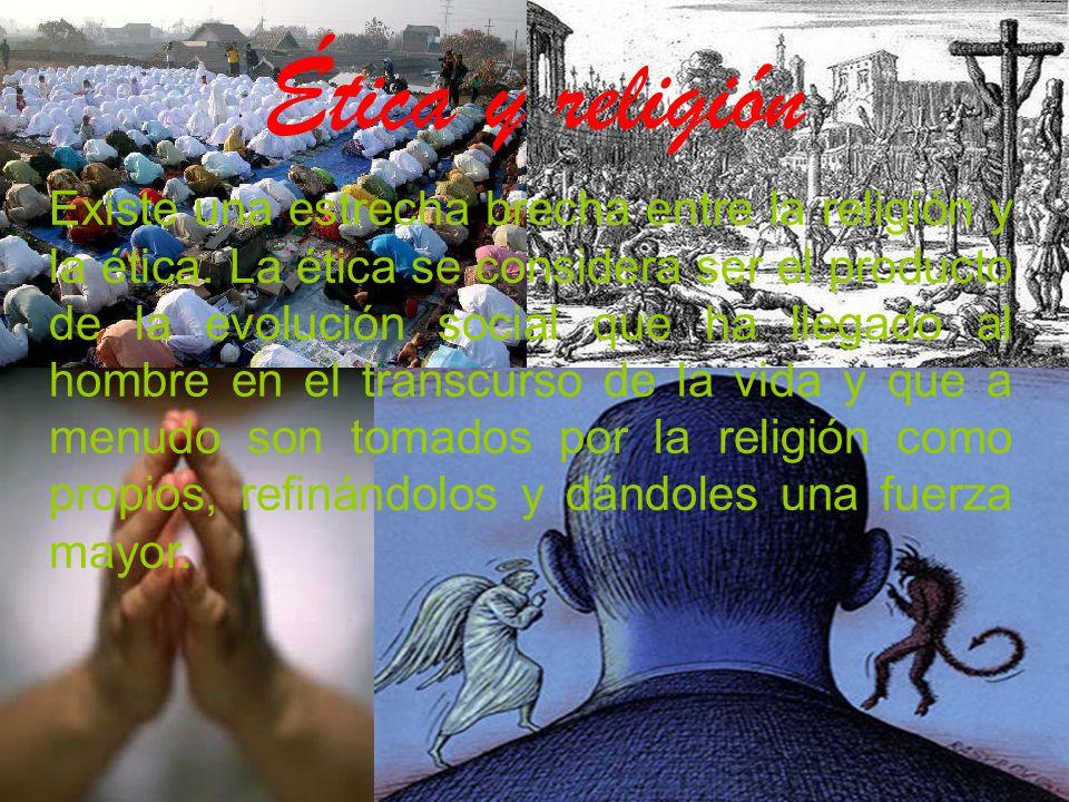 Ética y religión