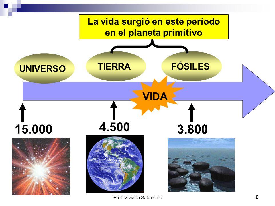 La vida surgió en este período en el planeta primitivo