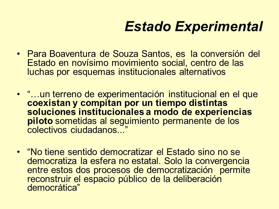 Estado Experimental