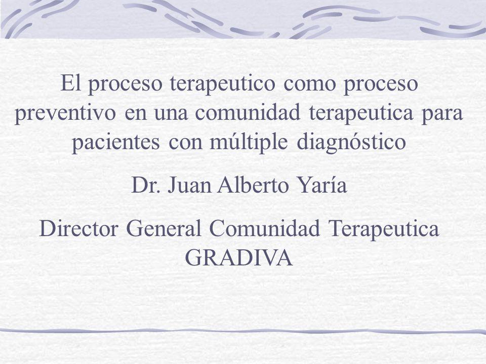 Director General Comunidad Terapeutica GRADIVA