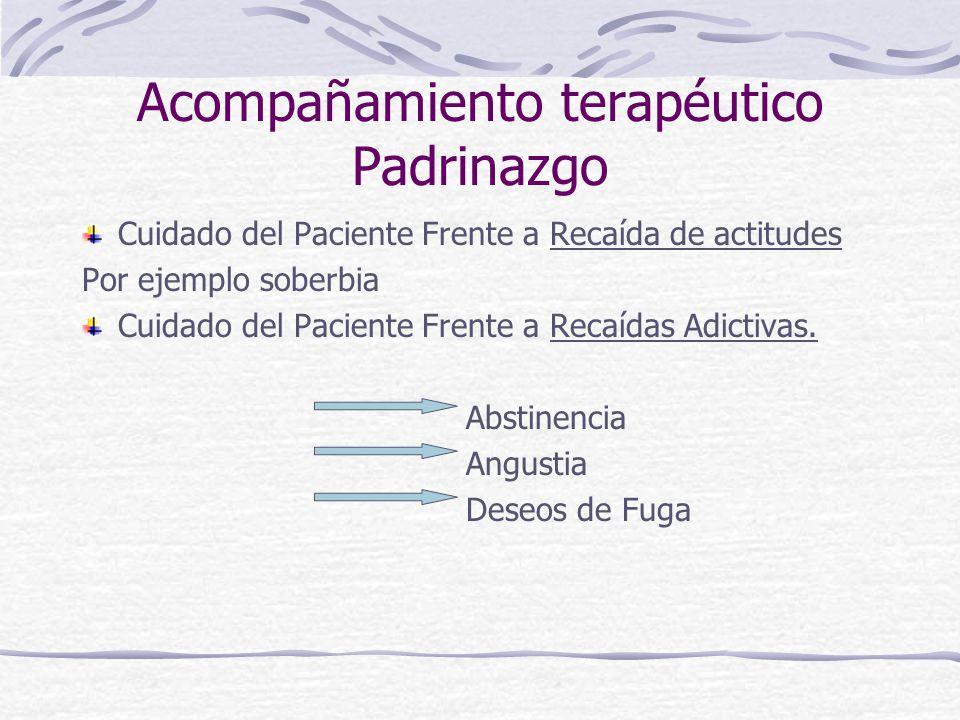 Acompañamiento terapéutico Padrinazgo