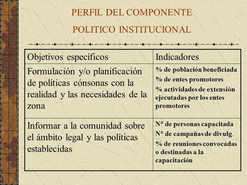 POLITICO INSTITUCIONAL