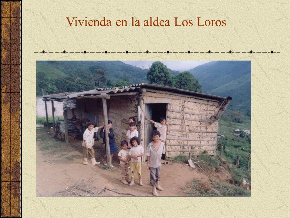 Vivienda en la aldea Los Loros