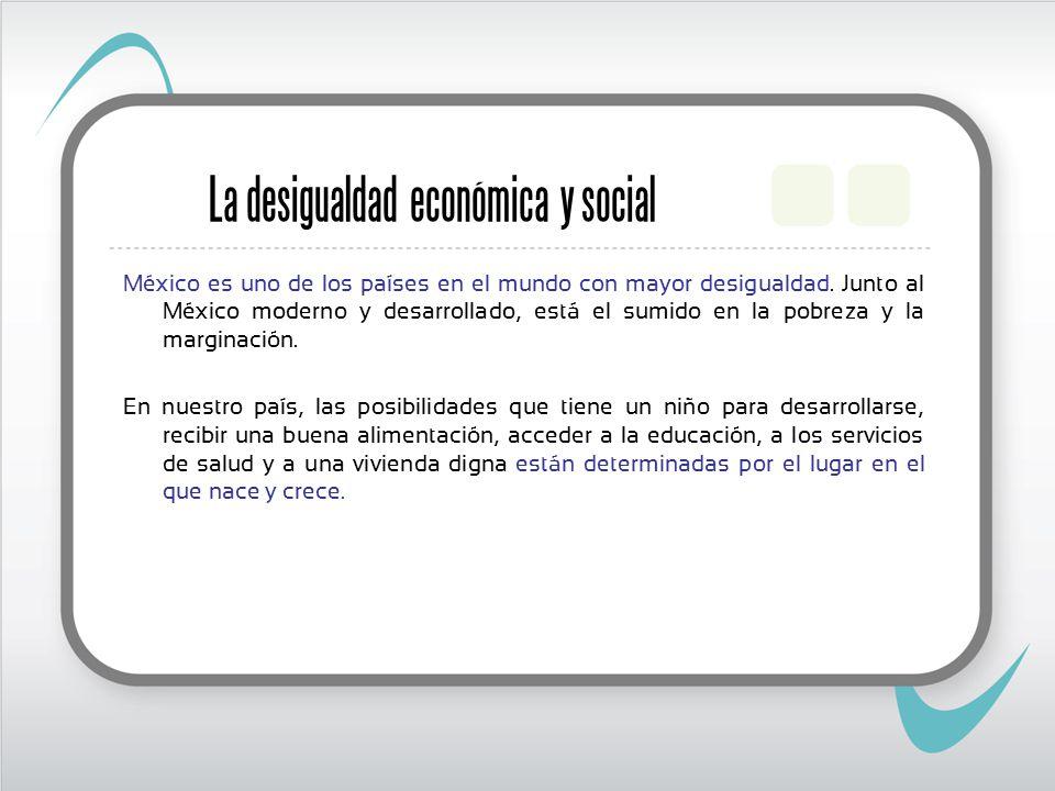 La desigualdad económica y social