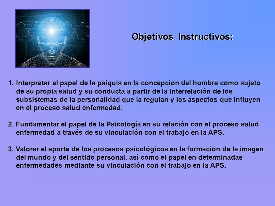 Objetivos Instructivos: