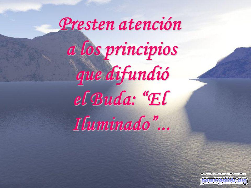 Presten atención a los principios que difundió el Buda: El Iluminado ...