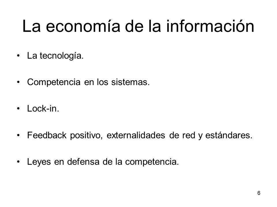 La economía de la información